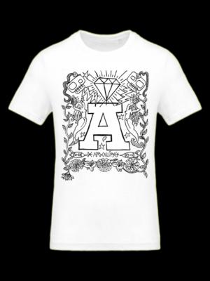 Camiseta Apocalipsis Blanca Manga Corta